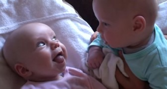 These twins share the cutest chat you'll ever listen to !