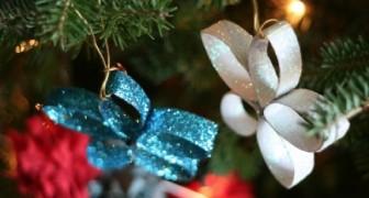 Estas simpaticas decoraciones estan hechas con algo que TODOS tenemos en casa!