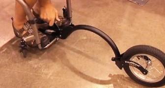 Un hombre en la silla de ruedas nos muestra su fantastica invencion