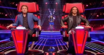 At first the judges of The Voice are not too sure ... but when her voice EXPLODES they have no doubts !