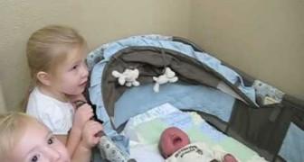 Deze pasgeboren baby komt thuis: de reactie van zijn grote zus is te SCHATTIG!