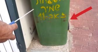 Er hört einen komischen Klagelaut hinter der Mülltonne: Sein Eingreifen ist lebensrettend!