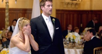 Questi sposi ricevono una sorpresa inaspettata che li fa urlare di gioia!