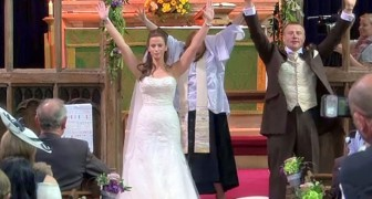 This marriage hides the craziest surprise ever seen !
