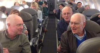 El avion esta en retraso: por suerte a bordo hay una SORPRESA para los pasajeros!