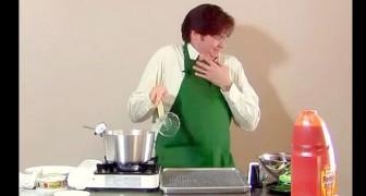 Het begint als een normale kook video, maar al snel blijkt het een RAMP te zijn!!!