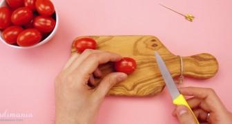 Veja o que este cara consegue criar com simples tomates.