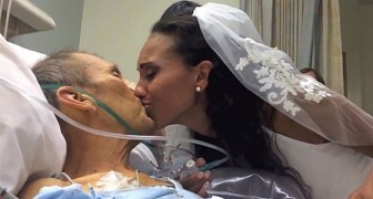 A man is in hospital: what his daughter does will leave you speechless !