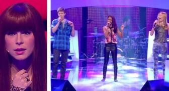 Tienen 3 voces completamente diferentes, pero cuando cantan juntos estremeceras!