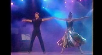 Watch this amazing performance of Patrick Swayze and his wife 21 years ago. WOW