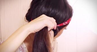 Invece di usare l'arricciacapelli, vi mostra un trucco formidabile per avere ricci perfetti!