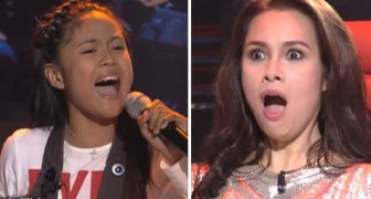 At first they're not too sure, but a few moments later this young singer makes the judges SCREAM !