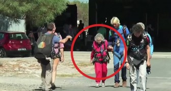 This woman is 100 years old, and decided to celebrate in big style !!
