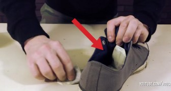 Pone saquitos de té en unos viejos zapatos: aqui 8 trucos de verdad...infaltables!
