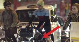 Sie sehen wie viele Radfahrer aus, aber nachts enthüllen ein LEUCHTENDES Geheimnis