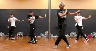 De manier waarop deze dansers synchroon bewegen zal je versteld doen staan...