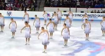 Se preparan sobre la pista de hielo: cuando iniciaran a moverse quedaran encantados