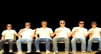 6 ragazzi iniziano a battere le mani: pochi minuti dopo otterranno un'OVAZIONE!