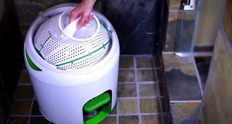 Esta lavadora les parecera extraña, pero podria ser una REVOLUCION!