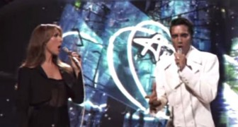 When Celine Dion takes the stage with Elvis, no one can believe it !