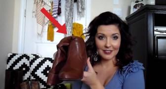 Ecco un trucco per riporre perfettamente gli stivali... con pochi centesimi!