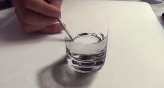 Inicia a dibujar sobre una hoja en blanco...el resultado final engañaria a CUALQUIERA!