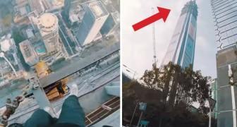2 Jungs steigen auf einen Wolkenkratzer: Ihr Plan wird euch erzittern lassen