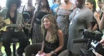 Beyoncé canta para los niños en un hospital: su performance los dejara encantados