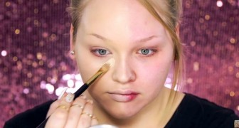 Comienza maquillando la mitad de su rostro: el resultado final le dejará sin palabras