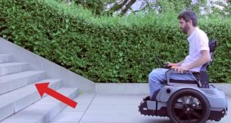 Il arrive devant les escaliers en fauteuil roulant: cette invention changera sa vie