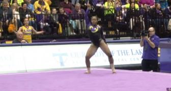De stijl van deze danseres is uniek en haar talent is ADEMBENEMEND!