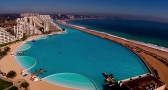 Construite en 5 ans, elle est longue de plus d'1 km: voici la piscine la plus grande du monde!