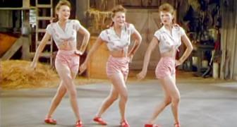 Parecem três bailarinas normais, mas ficaram famosas por um talento especial...