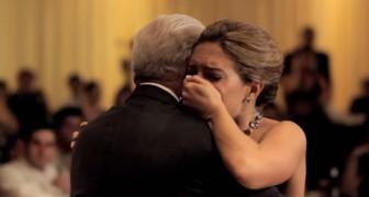 De vader van de bruid ontbreekt: wat haar broer doet, is ontroerend!