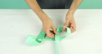 Lernt diese neue Technik, eine Krawatte in 10 Sekunden zu binden