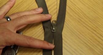 Une fermeture éclair cassée est un souci mais voici un moyen rapide pour résoudre le problème!