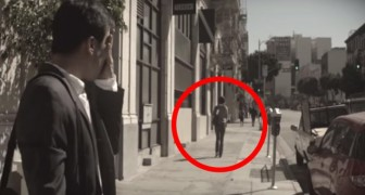 Este hombre a escondidas sigue a su mujer al trabajo cada dia: el motivo los dejara sin palabras