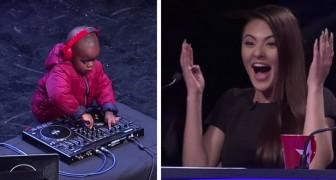 Si presenta sul palco a soli 3 anni: ciò che è capace di fare manda il pubblico in delirio!