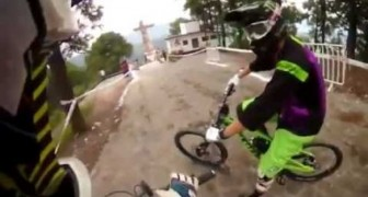 The most reckless Downhill