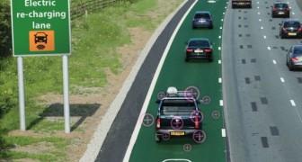 Il Regno Unito sta testando un metodo geniale per ricaricare le auto elettriche in movimento