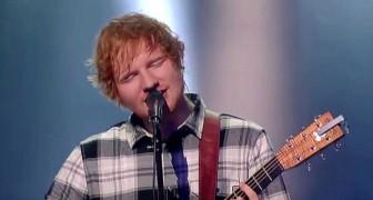 De jonge Ed Sheeran zingt een klassieker van 44 jaar geleden: het resultaat is verbluffend en van hoog niveau