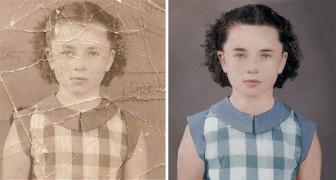 Un mago di photoshop riporta in vita una fotografia antica e quasi distrutta