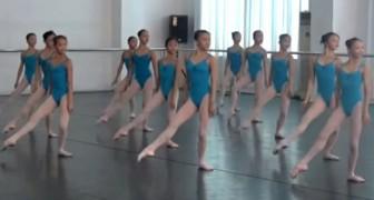 Deze ballerina's zijn aan het trainen: vanaf hun eerste beweging zul je je ogen niet meer van ze af kunnen houden