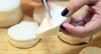 Cut pizza dough into small pieces, and within minutes your snack is served!