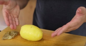 With this little trick BEFORE you boil the potatoes you will save time!