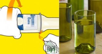 Créer de beaux vases ou des verres à l'aide de bouteilles de bière ? Voici comment le faire !
