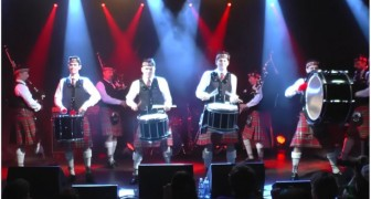 After watching this video,  bagpipes will be your FAVOURITE instruments ... WHOA !