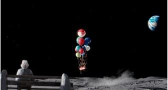 Un hombre vive solo sobre la luna: este es el video que esta emocionando el mundo