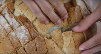 Avete del pane vecchio in dispensa? Iniziate a tagliarlo e create questa ricetta supergolosa