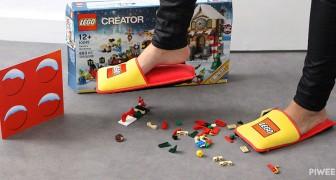 L'azienda Lego inventa delle pantofole speciali e pone fine a 66 anni di incidenti notturni